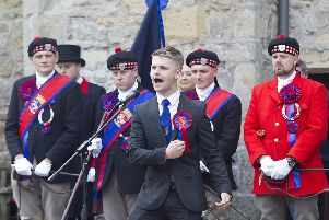 Alexander Edwards gives The Reprisal at Ferniehirst Castle.