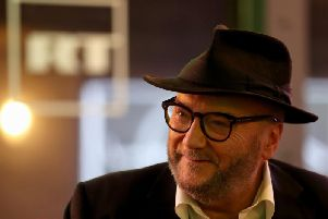 George Galloway. Picture: PA
