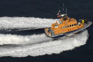 The RNLI lifeboat was involved in the search. Picture:PA