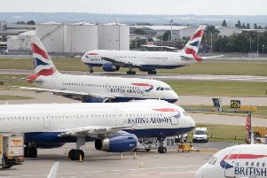 Heathrow Airport. Picture: PA