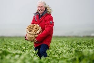 Kent-based Jamie McCoo will no longer need to travel1,000 miles to get his beloved Ayrshire potatoes. Picture: Peter Sandground