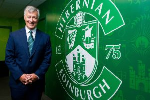 Ron Gordon is now the man pulling the strings at Hibs following the American-based businessman's takeover earlier this month. Picture: SNS