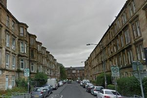 The incident occurred in Annette Street, Govanhill.
