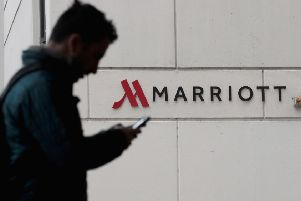 Marriott Hotels faced a fine of almost �100m. Picture: Scott Olson/Getty