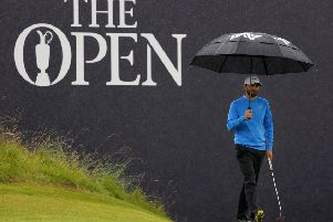 American Kyle Stanley during the third round of the 148th Open Championship at Royal Portrush. Picture: Getty Images