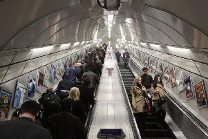When travelling on the London Underground aka Tube, it is advisable not to talk to strangers (Picture: Dan Kitwood/Getty Images)