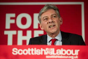 Richard Leonard is leader of the Scottish Labour Party and not Steven Gerrard's latest signing for Rangers, Kevan Christie feels the need to make clear (Picture: John Devlin)