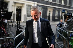 Writing in The Sunday Times, Mr Gove said that, while the aim was still to leave with a deal, the government needed to prepare for every eventuality. Picture: Getty