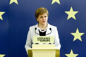 The SNP leader spoke out as she prepared to meet the new Prime Minister, who is making his first trip to Scotland since moving into Downing Street last week. Picture: SNP