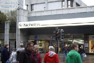 The alleged incident occurred in the roof garden of Aberdeen's St Nicholas Centre. Picture: CC BY-SA 2.0/Stanley Howe