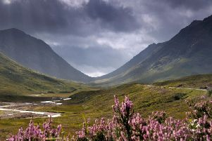 Archaeologists working at Glencoe for traces of the population that once lived here have found remains of what they think is an old pub. PIC: NTS.