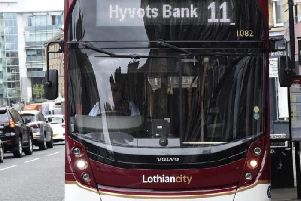 Lothian bus drivers were set to go on strike