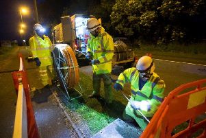 Superfast broadband should be available across the whole of the UK.
