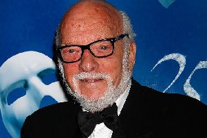 Hal Prince in 2013  (Picture; Laura Cavanaugh/Getty Images)