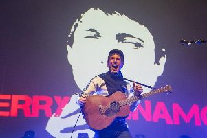 Gerry Cinnamon is known for his wild live shows.