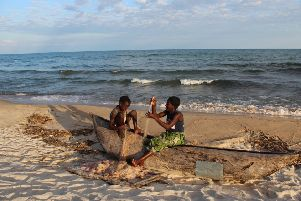 The shores of Lake Malawi, which covers one third of the country, and boasts the world's first freshwater national park (Picture:Govati Nyirenda)