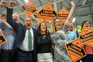 The Liberal Democrats won in Brecon and Radnorshire in part because other Remain-supporting parties did not stand (Picture: Ben Birchall/PA Wire)