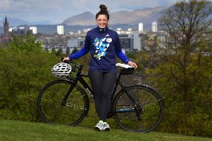 Charline Jones, nee Joiner, a Commonwealth Games medallist for Scotland in 2010. Picture: Tony Nicoletti