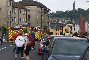 Fire crews rushed to the Pleasance theatre at around 3pm.