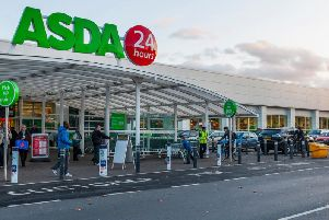 Asda workers are protesting new contracts which are being forced upon them.