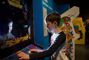 Space Invaders helped Aidan Smith meet his 12-year-old son, a keen Fortnite player, halfway on the subject of video games (Picture: Alex Hewitt)