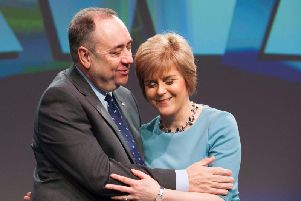 The First Minister admitted that her predecessor had been a dominant person in her life before she replaced him as SNP leader