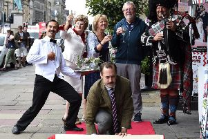 Faulty Towers Dining Experience Millionth Ticket