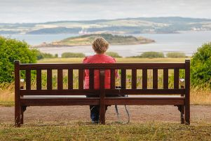 You can take in spectacular views of the Forth from the grounds of Lauriston Castle. Picture: Scott Louden
