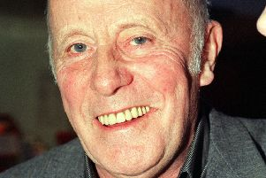 Even Victor Meldrew, aka Richard Wilson, can smile every so often (Picture: Michael Crabtree/PA)