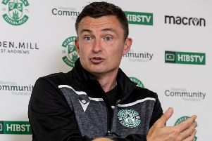 Hibernian manager Paul Heckingbottom. Picture: SNS