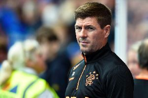Steven Gerrard has called for vocal backing from the home support against Hibernian