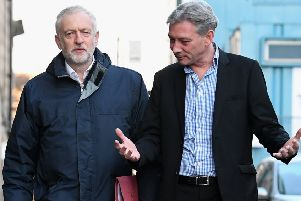 Richard Leonard is too closely allied to Jeremy Corbyn to offer a stout rebuttal of John McDonnell's stand on a second independence referendum. Photograph: Jeff J Mitchell/Getty