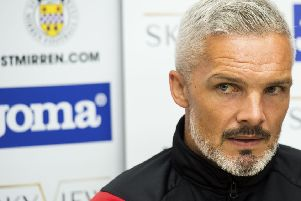 Jim Goodwin says the club must be prepared to look beyond the market in Scotland.