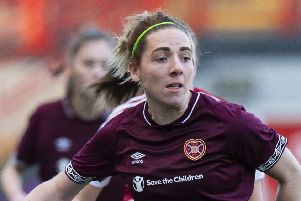 Rachel Walkingshaw blasted four goals for the Jambos