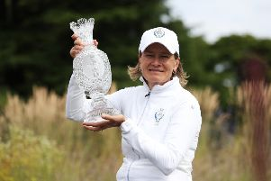 Solheim Cup captain Catriona Matthew says that handing Suzann Pettersen a wild card was an 'easy pick'. Picture: Getty.