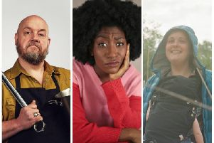 George Egg, Sophie Duker & Josie Long. Pictures: Matt Lincoln | Contributed | Giles Smith