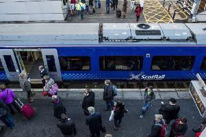 ScotRail peak fares will increase by 2.8 per cent in January compared to 3.2 per cent this year. Picture: Ian Georgeson