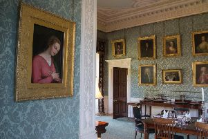 The painting from Haddo House in Aberdeenshire
