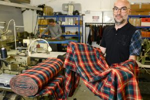 The new tartan. Picture: SWNS