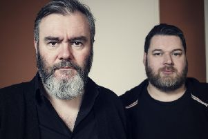 Aidan Moffat and RM Hubbert have been shortlisted for the album Here Lies The Body