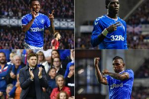 Three and easy for Rangers at Ibrox against Midtjylland as they advanced to the Europa League play-off round