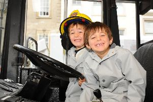 Lots of fun at Falkirk's Emergency Services Day