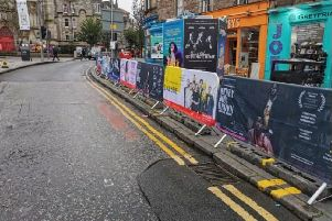 Ian Rankin has compared streets during the Fringe to Wacky Races.