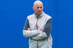 Rangers assistant manager, Gary McAllister. Picture: SNS