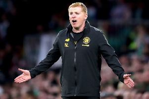 The pundits are only doing their jobs, says Celtic's manager Neil Lennon. Picture: Jane Barlow/PA Wire