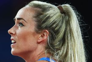 Eilish McColgan has spoken of the impact of period pain on her running.  Picture: Michael Steele/Getty Images