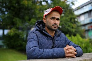 The cricketer is facing deportation. Picture: SWNS