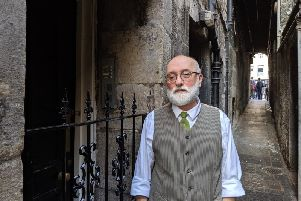 John Mitchell has lived in Stevenlaw's Close off the Royal Mile since 1992.