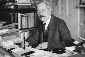 Labour's Ramsay MacDonald formed a National Government in 1931- and has never been forgiven for his betrayal. Picture: Getty