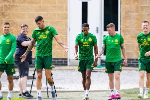 Could Scott Sinclair be heading for an exit from Celtic. Picture: sNS